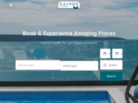 Frontpage screenshot for site: Najbolja ponuda apartmana, vila i hotela na Trogirskoj rivijeri (http://www.kairos-trogir.com)