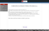Frontpage screenshot for site: GTM Gavan, Ogulin (http://www.gavan.hr/)