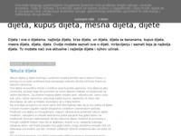 Slika naslovnice sjedišta: Sve dijete i sve o dijetama (http://najboljadijeta.blogspot.com/)