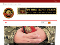 Slika naslovnice sjedišta: Udruga veterana ZNG 4.brigada (http://www.4brigada-zng.hr)