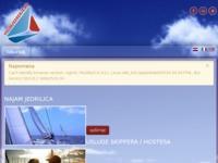 Frontpage screenshot for site: Volim jedrenje (http://www.volimjedrenje.hr)