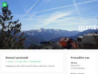 Frontpage screenshot for site: Izletište Gogo, Slani dol, Samoborsko gorje (http://www.izletiste-gogo.hr)