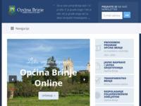 Slika naslovnice sjedišta: Općina Brinje Online (http://www.brinje.hr)