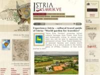 Frontpage screenshot for site: Istra iz Smrikvi (http://www.smrikve.com/istria/)