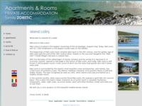 Frontpage screenshot for site: Otok Lošinj - apartmani i sobe, privatni smještaj, obitelj Zoretić (http://free-ri.t-com.hr/apartments-zoretic/)