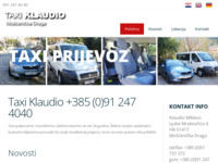 Slika naslovnice sjedišta: Taxi Rijeka (http://www.taxi-transfer.net)