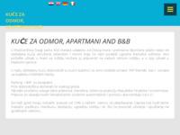 Frontpage screenshot for site: Apartmani Mošćenička Draga (http://www.sobe-taxi-mikleus.com/)