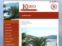 Frontpage screenshot for site: Restoran Keko - Rava (http://www.restoran-keko-rava.com)