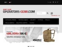 Slika naslovnice sjedišta: Trgovina vojne opreme CombatKit (http://www.combatkit.hr/)