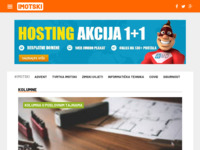 Slika naslovnice sjedišta: Internet portal - Grad Imotski (http://imotski.info/)
