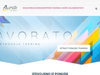 Slika naslovnice sjedišta: Veleprodaja tkanina - Avorato d.o.o. (http://www.avorato.hr)