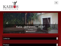 Frontpage screenshot for site: Kairos d.o.o. (http://kairos-nekretnine.hr/)