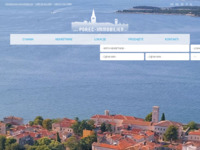 Frontpage screenshot for site: Porec Immobilien (http://porec-immobilien.hr/)