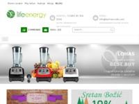 Frontpage screenshot for site: Eterična ulja i kristalu u vašem domu (http://www.shop.larimarcode.com)