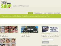 Frontpage screenshot for site: FotkaShop.com (http://www.fotkashop.com)