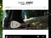 Frontpage screenshot for site: Danijel Jurišić - glazbenik gitarist (http://www.danijeljurisic.com/)