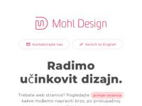 Slika naslovnice sjedišta: Mohl design (http://www.mohldesign.hr)
