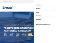 Slika naslovnice sjedišta: Breza - proizvodnja i trgovina (http://www.breza-nasice.hr)