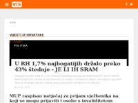 Slika naslovnice sjedišta: Internet portal - Grad Vis (http://otok-vis-online.net/)