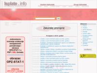 Slika naslovnice sjedišta: Osobni dohodak i drugi dohodak (http://www.isplate.info/)