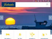 Frontpage screenshot for site: Apartmani Jadranka Mandre (http://www.jadrankamandre.com/ )