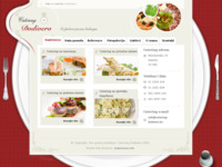 Frontpage screenshot for site: Catering Dodivero (http://www.catering-dodivero.hr)