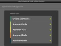 Frontpage screenshot for site: Apartmani Vabriga-Tar u Istri (http://www.apartments-vabriga.com)