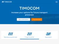 Slika naslovnice sjedišta: TimoCom (http://www.timocom.com)