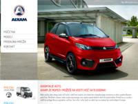 Slika naslovnice sjedišta: Aixam i Mega vozila (http://www.aixam-hr.com)