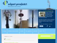 Slika naslovnice sjedišta: Siget projekt d.o.o. (http://www.siget-projekt.hr)