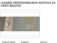 Slika naslovnice sjedišta: Video Sigurnosni Sustavi d.o.o. (http://video-nadzor-leasing.com/)
