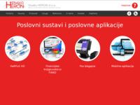 Frontpage screenshot for site: Studio Heron (http://www.studioheron.hr)