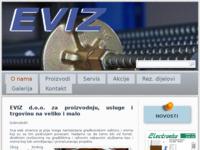 Slika naslovnice sjedišta: Eviz d.o.o. (http://www.eviz.hr)