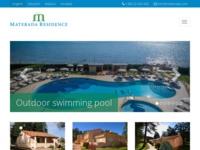 Frontpage screenshot for site: Apartmansko naselje Materada Residence Poreč (http://www.apartment-porec.com)