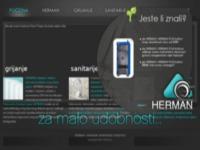 Frontpage screenshot for site: Radijatori (http://herman.com.hr/)