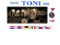 Frontpage screenshot for site: Konoba Toni Dol na Braču (http://www.toni-dol.info)