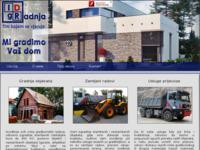 Slika naslovnice sjedišta: Idr gradnja d.o.o. (http://www.idr-gradnja.hr)