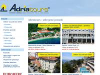 Frontpage screenshot for site: Adriatours d.o.o. (http://www.adriatours.hr)