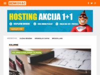 Slika naslovnice sjedišta: Internet portal - Grad Benkovac (http://benkovac.info/)