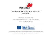Slika naslovnice sjedišta: MaK vrtovi (http://www.mak-vrtovi.hr)