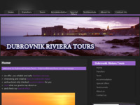Frontpage screenshot for site: Dubrovnik Riviera Tours (http://www.dubrovnikrivieratours.com)