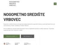 Slika naslovnice sjedišta: Nogometno središte Vrbovec (http://www.ns-vrbovec.hr)