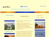 Frontpage screenshot for site: Apartman Vegrin - Vaš nezaboravni odmor (http://www.vegrin.rabonline.at)