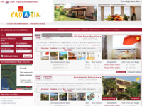 Frontpage screenshot for site: Apartmani Hrvatska (http://www.croatiaapartments.net)