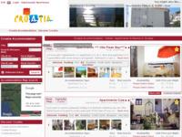 Slika naslovnice sjedišta: Apartmani Hrvatska (http://www.croatiaapartments.net)