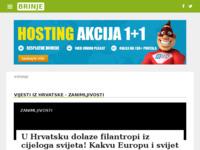 Slika naslovnice sjedišta: Internet portal - Grad Brinje (http://brinje.info/)