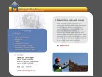 Frontpage screenshot for site: Poduzeće za graditeljstvo, trgovinu i usluge (http://www.miljan.hr/)