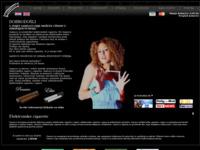 Frontpage screenshot for site: Gamucci e cigarete (http://www.gamucci-shop.com)