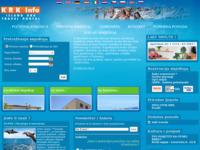Frontpage screenshot for site: (http://www.krk-info.com/)