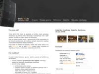 Frontpage screenshot for site: Euro-ton d.o.o. (http://www.euro-ton.com)